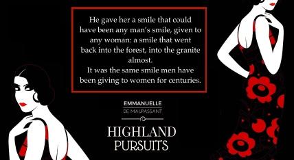 smile teaser Highland Pursuits Emmanuelle de Maupassant