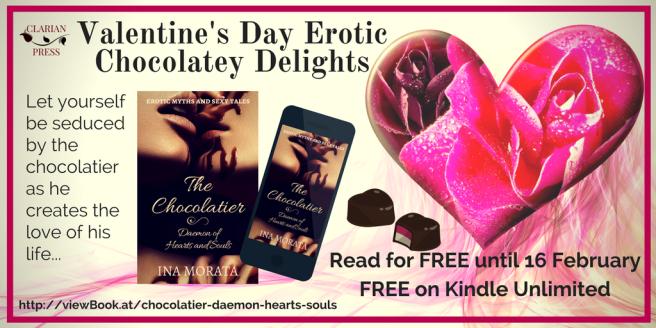 Valentine's Day Chocolatey Erotica twitter