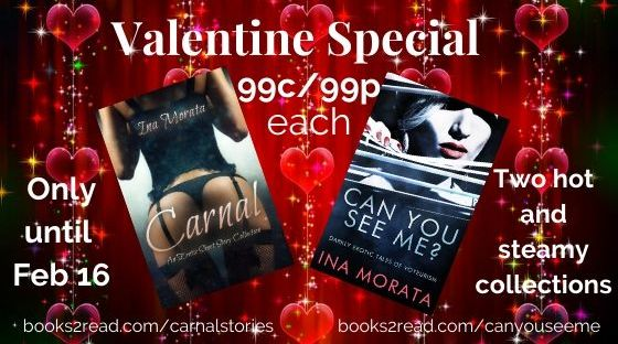 Carnal and Can you see me for 99c/99p